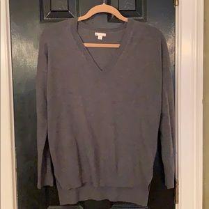 Gap gray wool blend sweater small